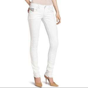 """Diesel women's """"Grupee"""" skinny stretch jeans"""